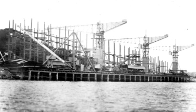 With the formation of the B.H.A.S., plans to expand the operations at Port Pirie were quickly underway. Large supplies of coal were needed to feed new furnaces, and more efficient methods of unloading and transporting coal were put in place.