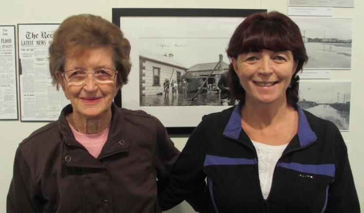 Coral Evans & Lindy Pollard at PPRAG 17 June 15