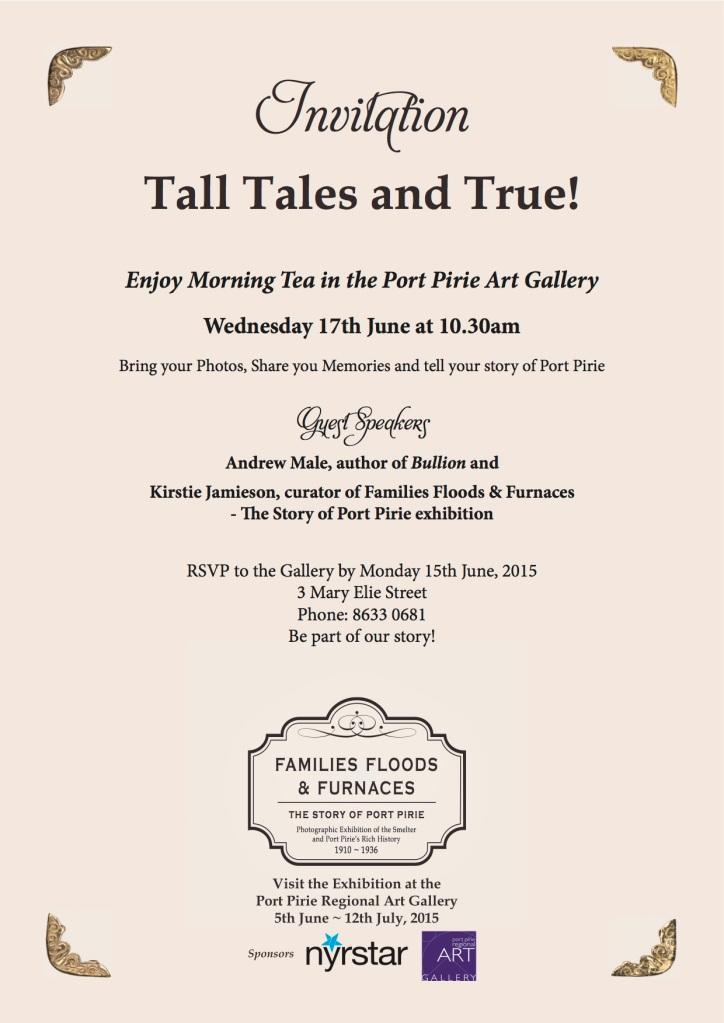 Tall Tales and True - Invitation copy