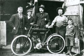 Archibald Limb motorcycle
