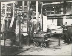 Casting of Silver in old Parting Plant Early 30's
