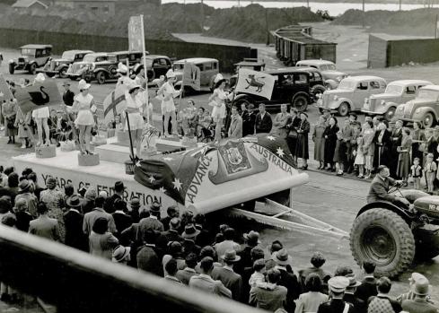 Federation anniversary parade pirie (1951)