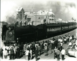 Steam Train, Last in Ellen St. Port Pirie